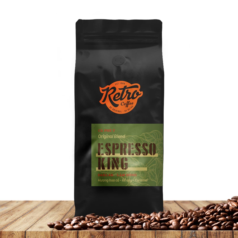 cafe rang xay nguyên chất