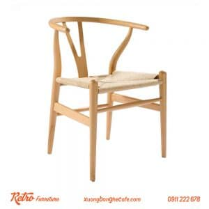ghế gỗ cafe cao cấp