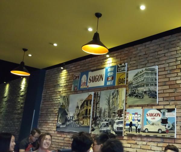 Tranh trang trí quán cafe- Sài gòn xưa
