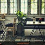 Nên chọn bàn ghế nào cho quán cafe mang phong cách hoài cổ