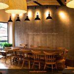 Một số mẫu bàn ghế gỗ cafe đẹp, sang trọng