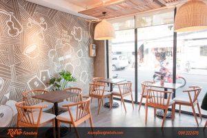 Quán Cafe - trà sữa với phong cách trẻ trung