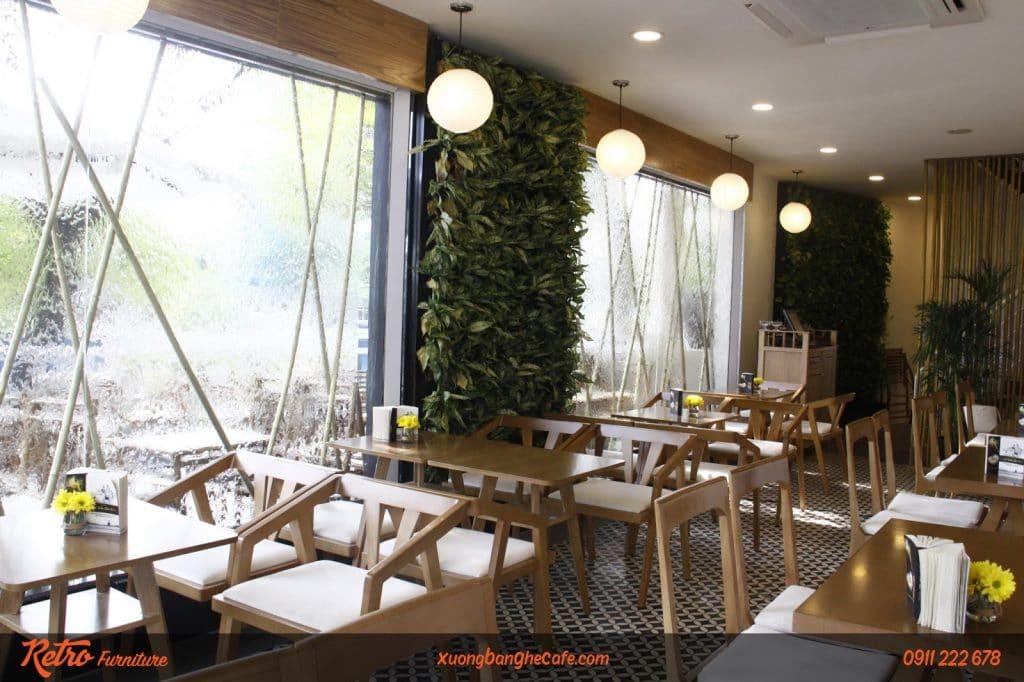 Bàn Ghế cafe Trung Nguyên