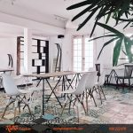 Hướng dẫn cách bố trí bàn ghế và trang trí quán cafe ấn tượng