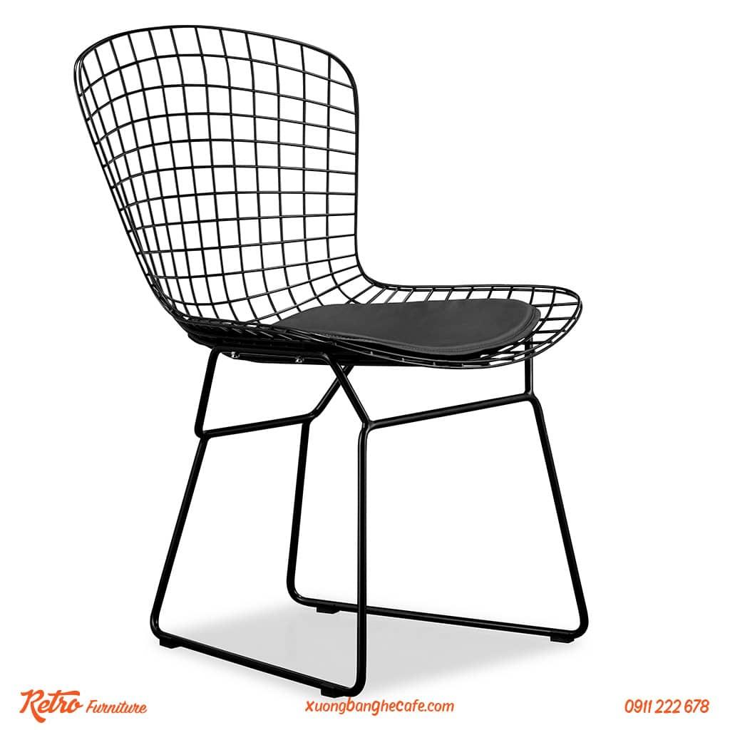 ghế cafe sắt sơn tĩnh điện cao cấp