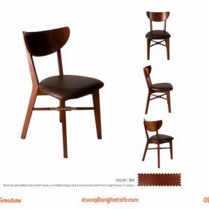 Ghế gỗ quán cafe
