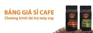 Bảng giá sỉ Cafe hạt rang xay nguyên chất