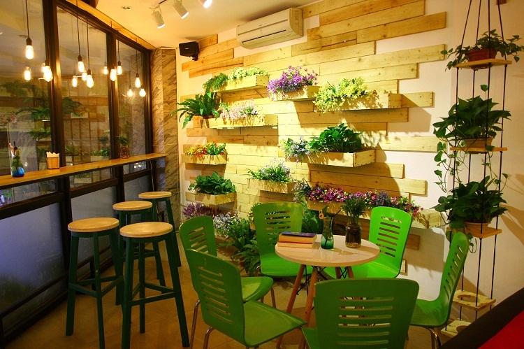 Phong cách thiết kế quán trà sữa đẹp