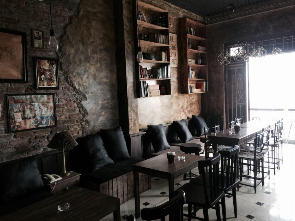 Quán cafe với thiết kế đơn giản những vẫn đậm phong cách vintage