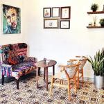 Thiết kế nội thất bàn ghế gỗ phong cách Vintage