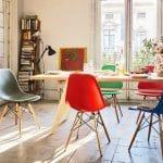 Bàn ghế cafe nhựa chân gỗ – Xu hướng mới trong nội thất quán cafe