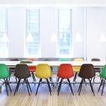 Quán cafe thêm năng động với bàn ghế cafe nhựa chân gỗ
