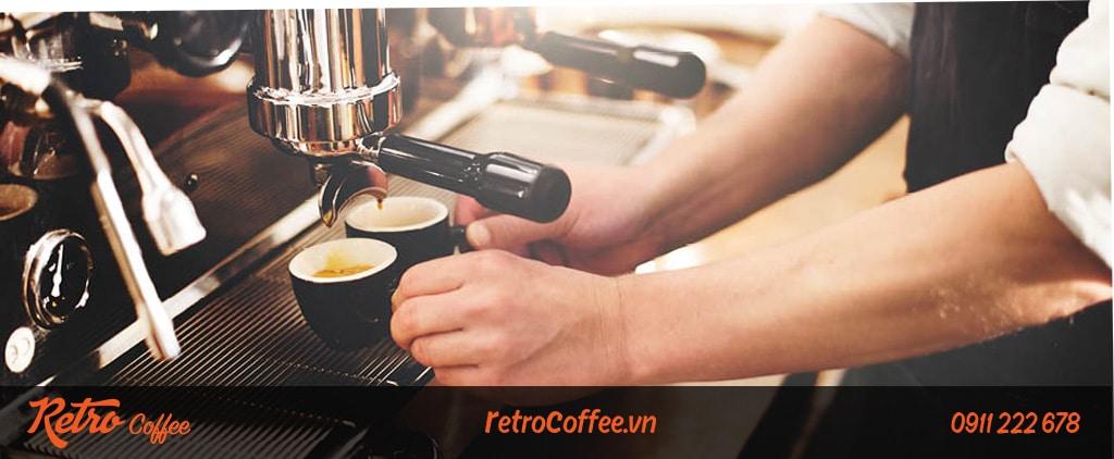 Mua máy pha cafe cho quán