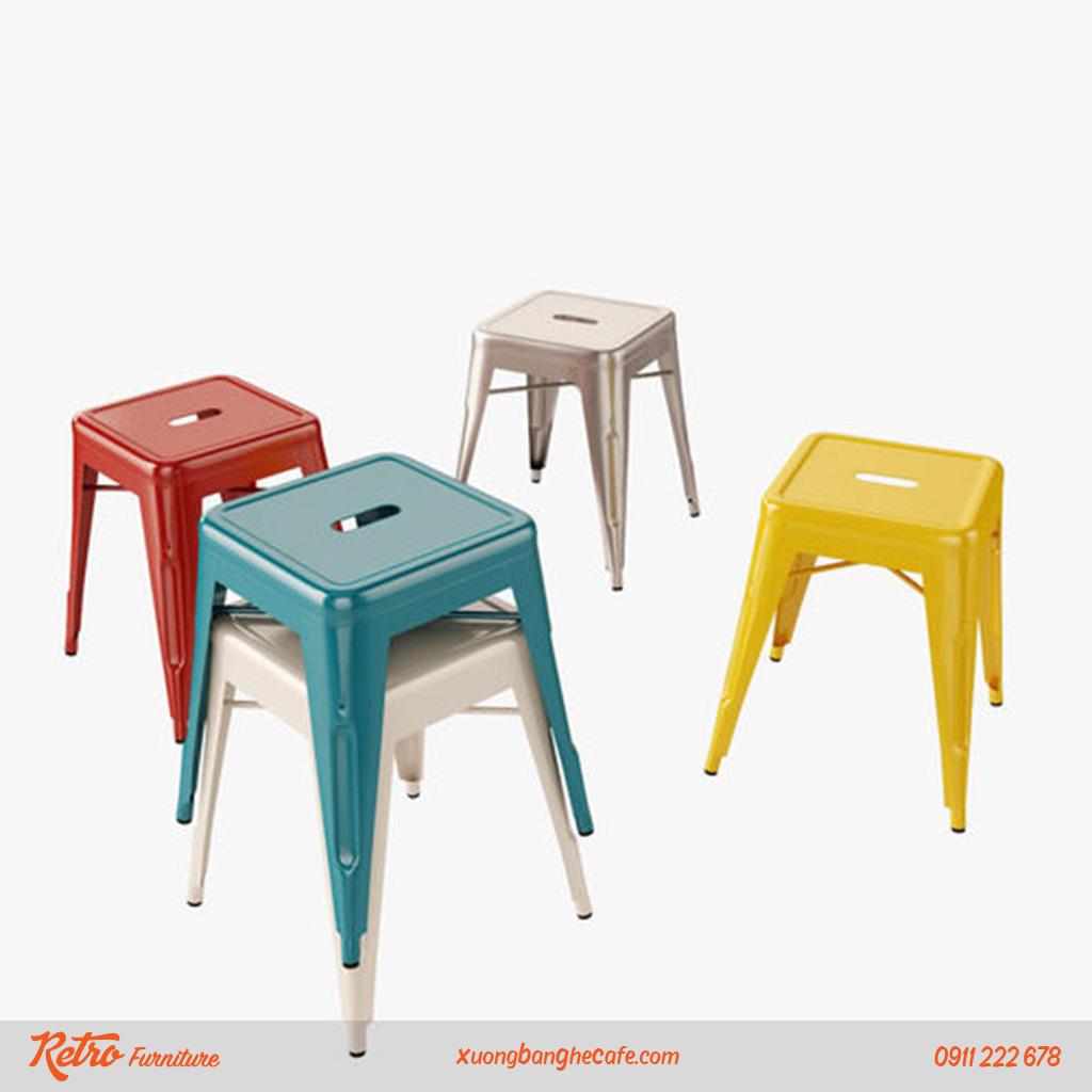 ghế sắt sơn tĩnh điện