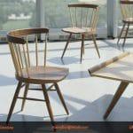 Một số mẫu bàn ghế gỗ cafe đang thịnh hành hiện nay