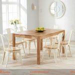 Bàn ghế gỗ cafe cho không gian sang trọng