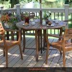 Những mẫu bàn ghế gỗ đẹp cho không gian quán cafe