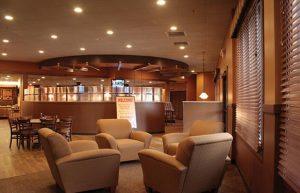 Đèn led âm trần thích hợp cho những quán cafe hiện đại