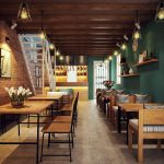 Những ưu điểm tuyệt vời của bàn ghế cà phê sắt mặt gỗ