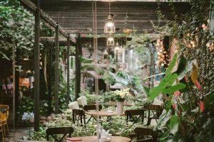 Bộ sưu tập các mẫu bàn ghế cafe sân vườn đẹp, tinh tế, Hot nhất 2019