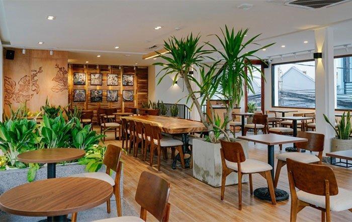 Quán cafe được trang trí theo phong cách hiện đại: The Coffee House