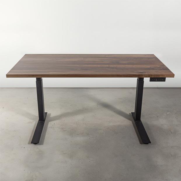 Bàn gỗ chân sắt quán cafe - Mẫu 1