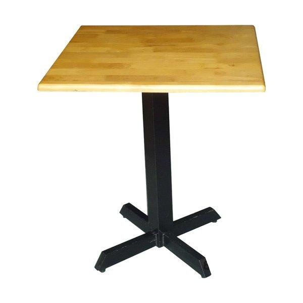 Bàn gỗ chân sắt quán cafe - Mẫu 3