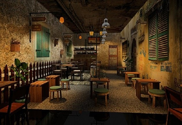 mở quán cafe bình dân