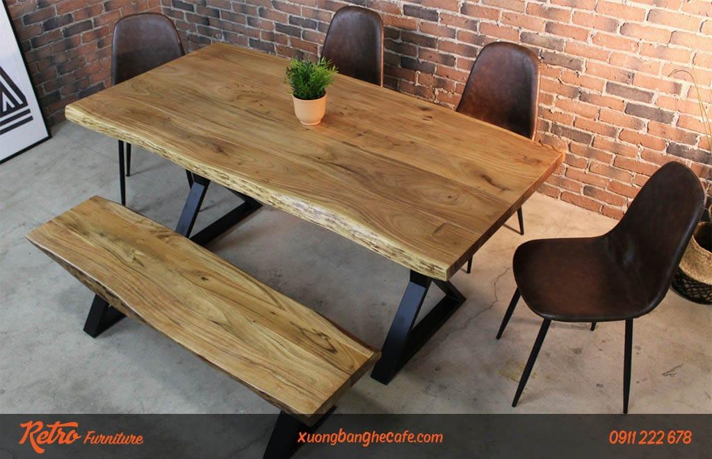 Ghế da Milan eames dễ dàng kết hợp với nhiều mẫu bàn khác nhau