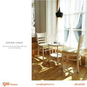 Mẫu ghế phù hợp sử dụng ở nhiều không gian