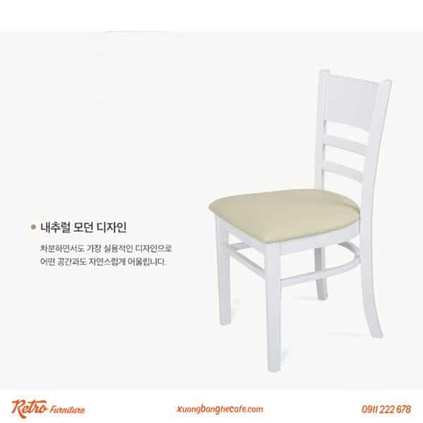 Chiếc ghế mang lại sự thoải mái hoàn toàn khi ngồi