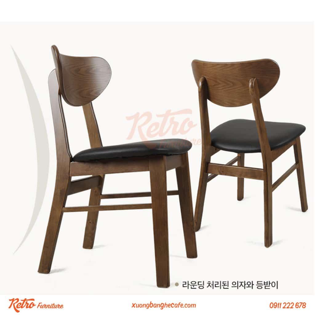 Ghế gỗ cafe xuất khẩu Vianca