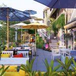 100 + Không gian quán cafe sân vườn đẹp, thu hút khách hàng