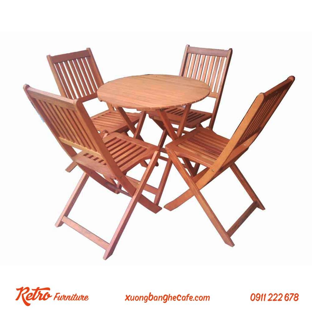 Mẫu bàn ghế thịnh hành và được ưa chuộng