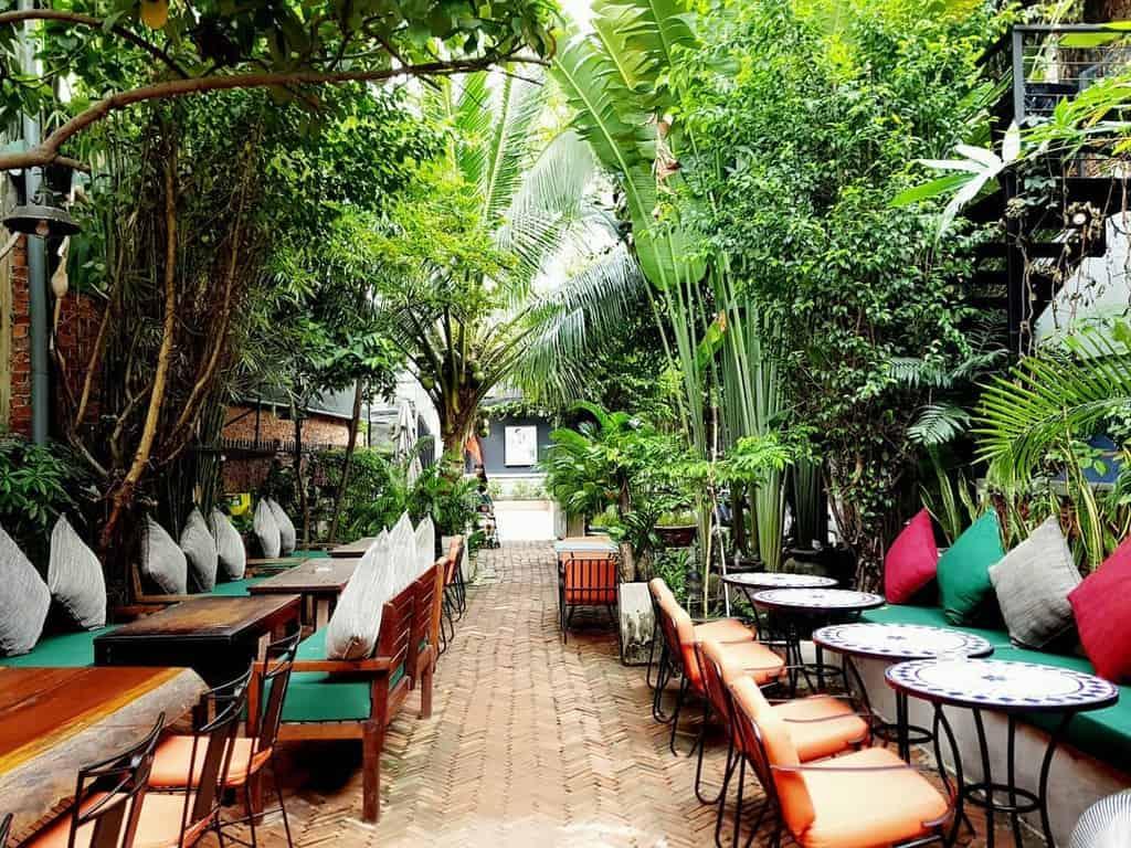 Không gian quán cafe đầy sáng tạo