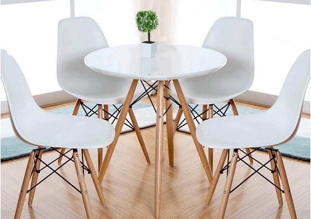 Bàn ghế cafe đẹp: Bàn ghế nhựa