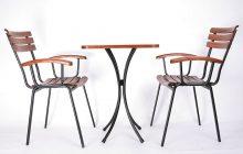 Bàn ghế cafe ngoài trời cao cấp R07