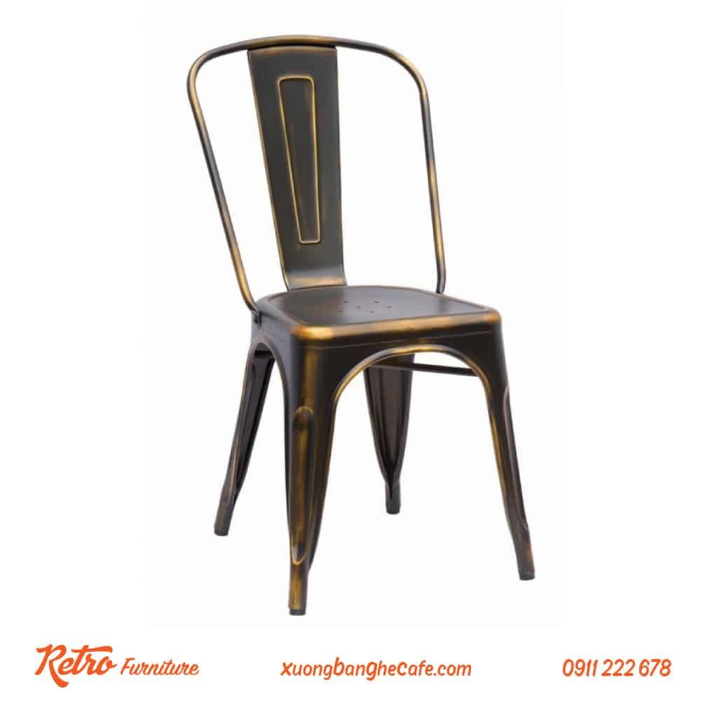 ghế cafe sắt tolix giá rẻ