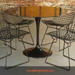 Những mẫu bàn ghế chân sắt cho nhà hàng, quán cafe