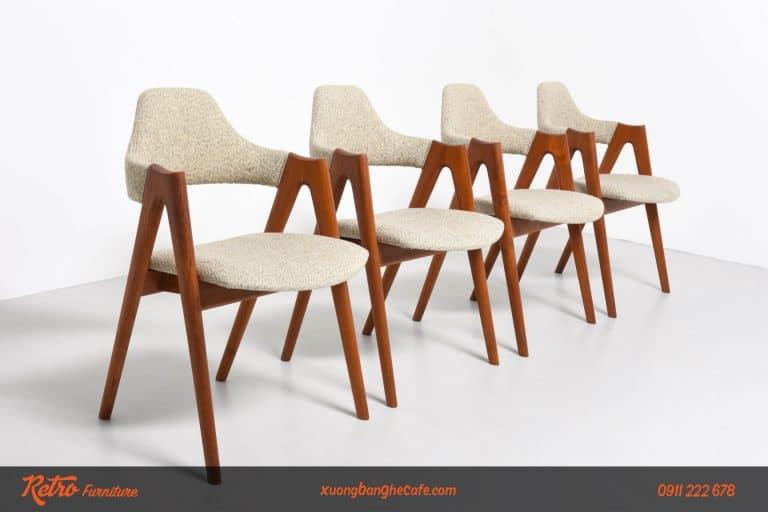 ghế cafe gỗ