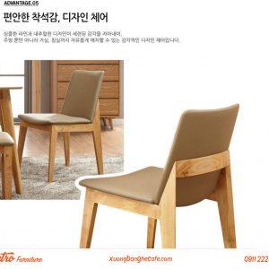 ghế gỗ cafe obama