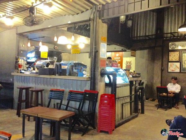 Quán cafe Take Away The Factory