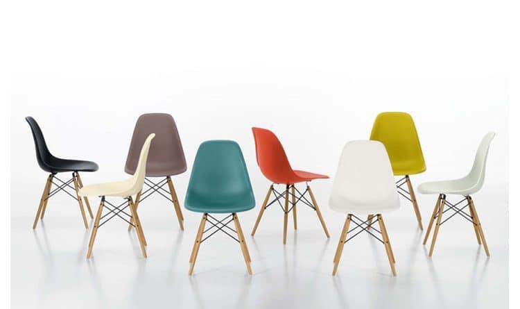 bàn ghế nhựa cao cấp, bàn ghế eames nhựa chân gỗ