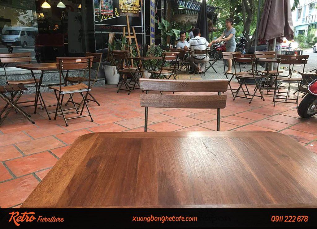 ghế xếp gỗ đẹp