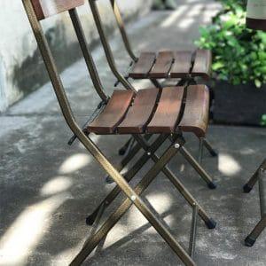 ghế xếp sắt