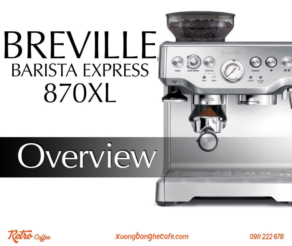 máy pha cafe 1 group breville