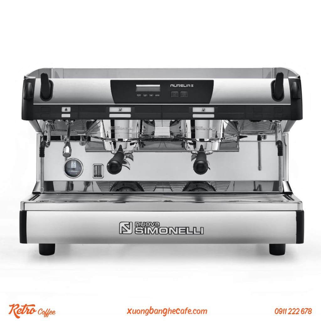 máy pha cafe nuova simonelli aurelia 2 group