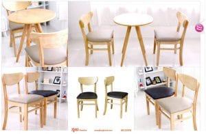 Bàn ghế cafe thanh lý tại Retro Furniture
