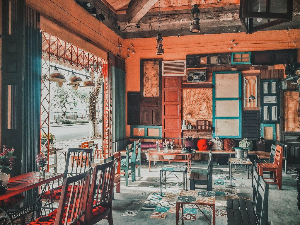 Các mẫu ghế cafe phong cách Retro
