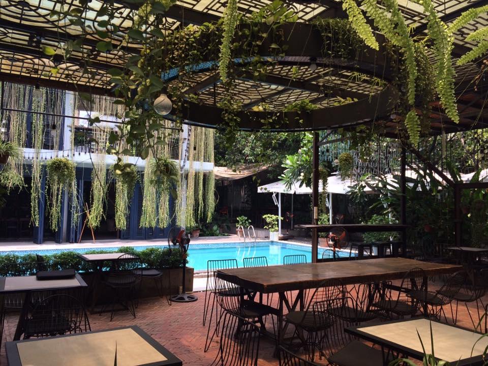 Những quán cafe có thiết kế gần gũi với thiên nhiên mang đến sự trong lành, mát mẻ cho thực khách.
